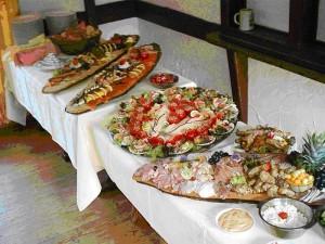 Hapjes / Koud-warm buffet